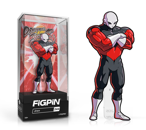 FiGPiN Classic: Dragon Ball FighterZ - Jiren (First Edition)