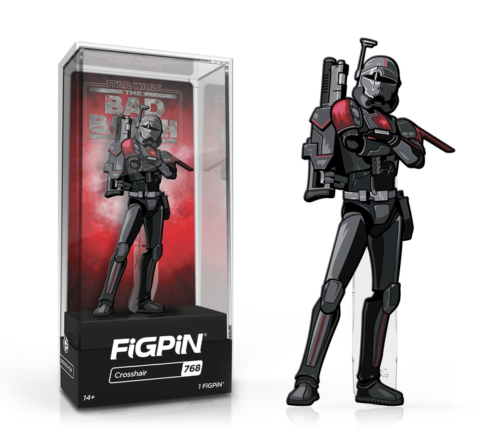 FiGPiN: Star Wars: The Bad Batch™ - Crosshair™ #768 (First Edition)
