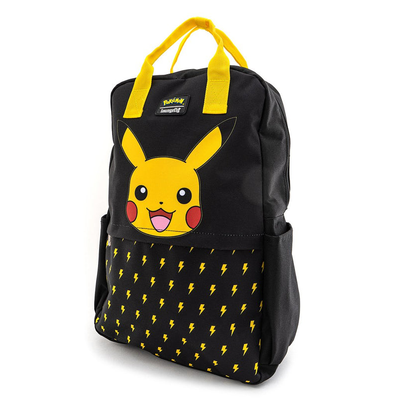 Pokemon Lightning Bolt Nylon Square Backpack