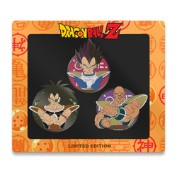 Saiyan Villains Pin Set