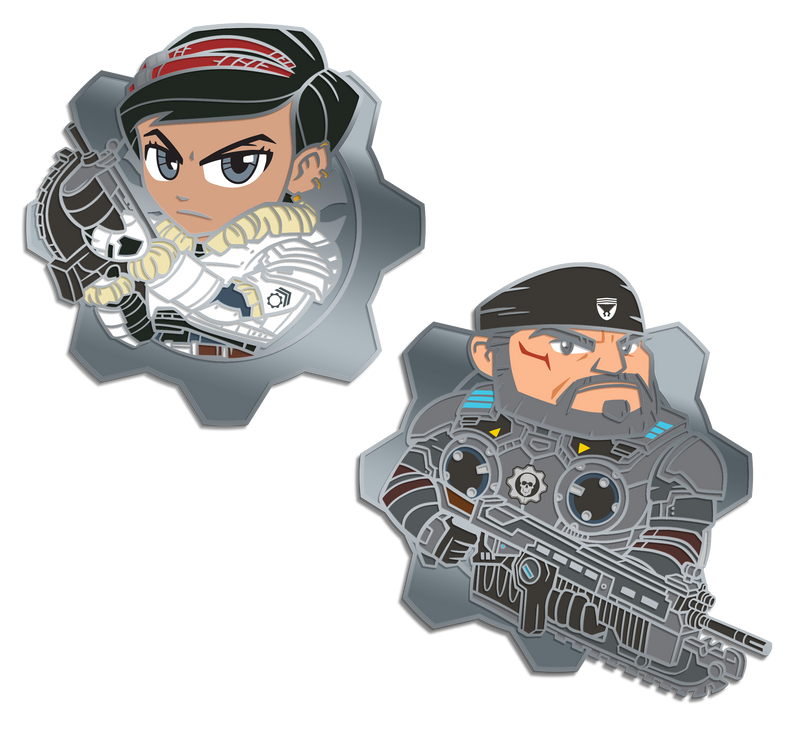Gears 5: Marcus and Kait Pin