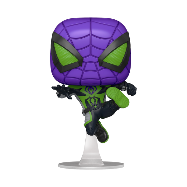 POP! Games: Marvel's Spider-Man Miles Morales Miles (Purple Reign)