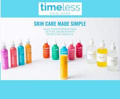 Our Complete Timeless Skin Care Collection NOW up to 23% OFF