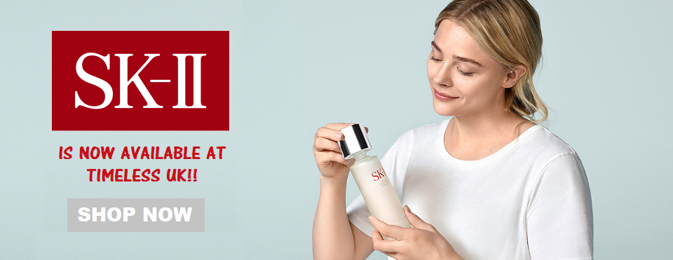 SK-II is now available at Timeless UK. Visit us at www.timeless-uk.com for product details and our latest offers!