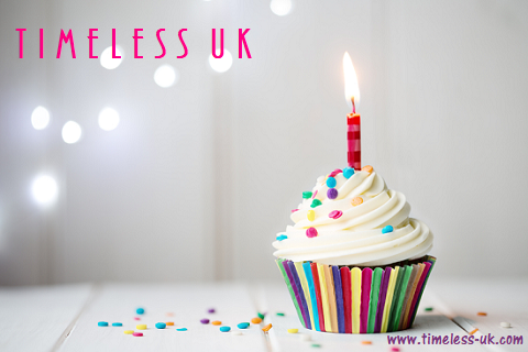 Happy Birthday Gift Cards at Timeless UK