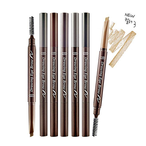 < NEW ARRIVAL > 2 x ETUDE HOUSE Drawing Eyebrow - Eyebrow Pencil - 0.01 oz / 0.25g