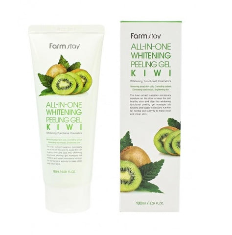 Farm Stay All-In-One Whitening Peeling Gel (Kiwi) at www.timeless-uk.com
