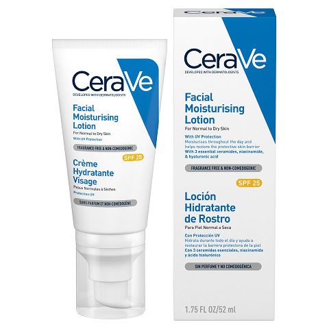 CeraVe Facial Moisturising Lotion with SPF 25 -  52ml