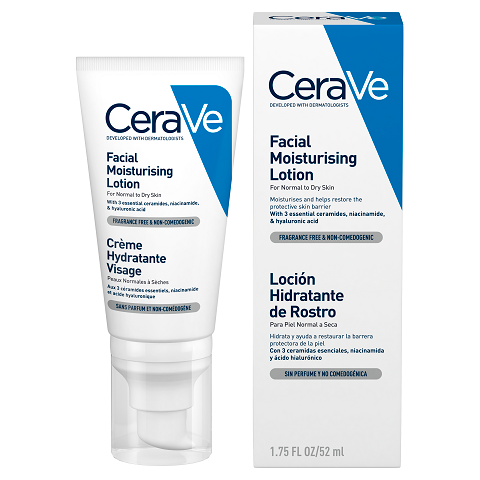 CeraVe Facial Moisturising Lotion (No SPF) -  52ml