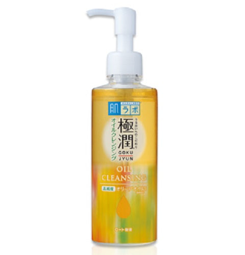 HADA LABO Goku-jyun Super Hyaluronic Acid Cleansing Oil - 200ml (new formula) - Now available on our sister website ww.barefection.com