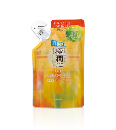 HADA LABO Goku-Jyun Super Hyaluronic Acid Cleansing Oil Refill is now available at Timeless UK. Visit us at www.timeless-uk.com for product details and our latest offers!