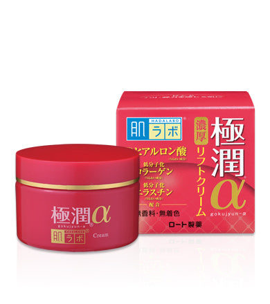 Hada Labo Goku-Jyun Alpha Anti-aging Lifting & Firming Cream is now available at Timeless UK. Visit us at www.timeless-uk.com for product details and our latest offers!