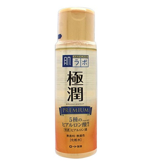 HADA LABO Goku-Jyun Premium Hyaluronic Acid Lotion (Toner) Refill - 170ml - Now available on our sister website www.Barefection.com