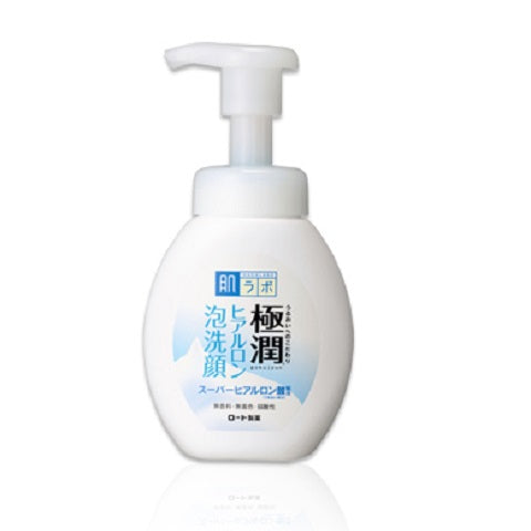 HADA LABO Goku-jyun Foaming Face Wash at Timeless UK - Visit us at www.timeless-uk.com for product details