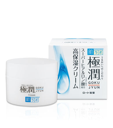 Hada Labo Goku-Jyun Super Hyaluronic Moisturizing Cream – 50g - Now available on our sister website www.Barefection.com