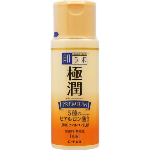 HADA LABO Goku-Jyun Premium Hyaluronic Acid Milky Emulsion at Timeless UK. Visit us at www.timeless-uk.com for product details and latest deals!
