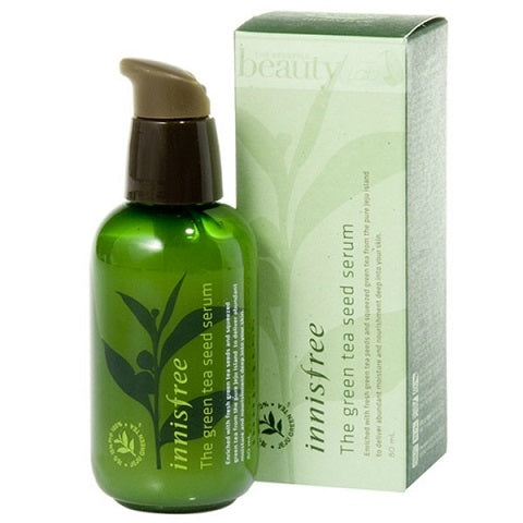 Innisfree The Green Tea Seed Serum at www.timeless-uk.com