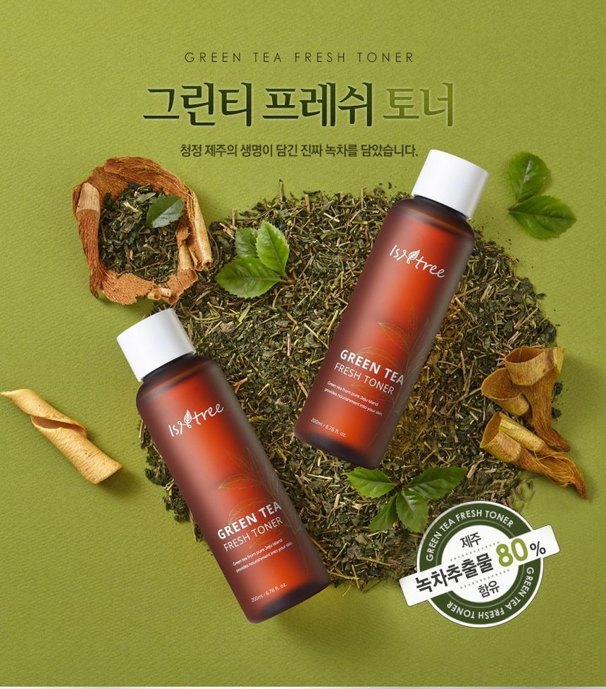 IsNtree Green Tea Fresh Toner at Timeless UK. Visit us at www.timeless-uk.com for product details and latest deals!