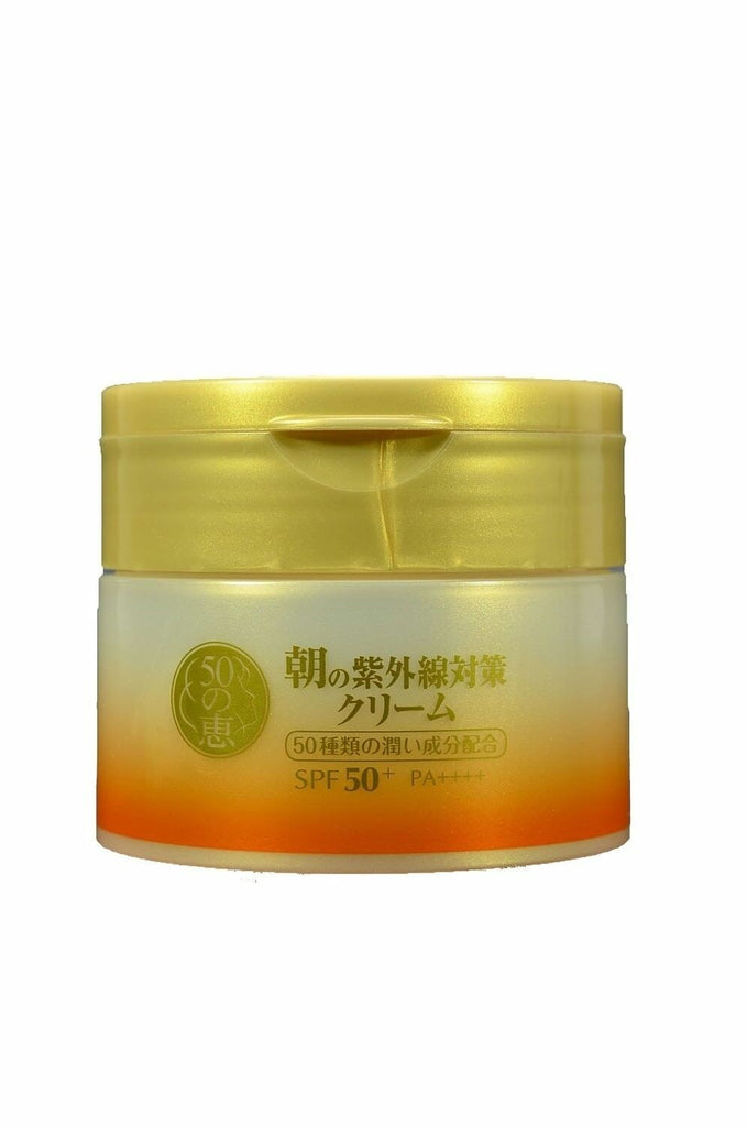Rohto 50 Megumi Morning UV Protection Cream SPF 50+ / PA++++ - 90g - Now available on our sister website www.Barefection.com