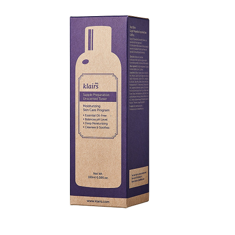 KLAIRS Supple Preparation Unscented Toner  - 180ml / 6 fl. oz - Now available on our sister website www.Barefection.com