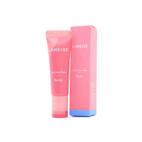 <NEW ARRIVAL > LANEIGE Lip Glowy Balm (Berry) - 10g