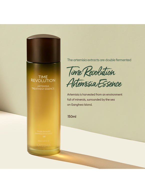 Missha Time Revolution Artemisia Treatment Essence now available at Timeless UK. Visit us at www.timeless-uk.com for product details and our latest offers!
