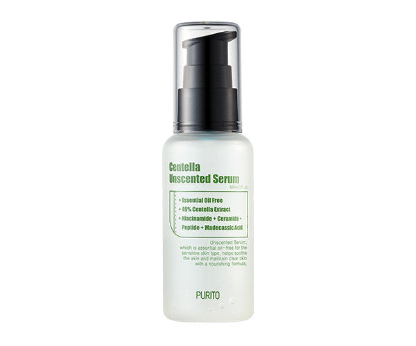 < NEW ARRIVAL > Purito Centella Unscented Serum - 60ml - Now available on our sister website www.Barefection.com