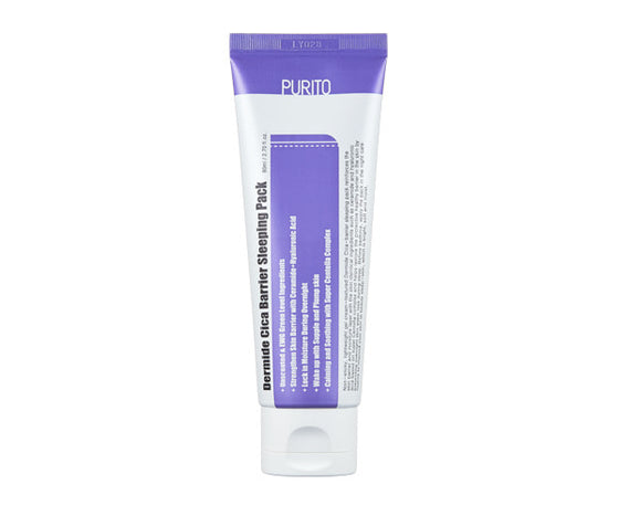 < NEW ARRIVAL > PURITO - Dermide Cica Barrier Sleeping Pack - 80ml