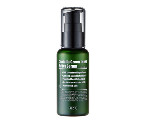 PURITO Green Level Buffet Serum is now available at Timeless UK. Visit us at www.timeless-uk.com for product details and our latest deals!