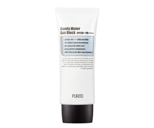 PURITO Comfy Water Sun Block is now available at Timeless UK. Visit us at www.timeless-uk.com for product details and our latest offers!
