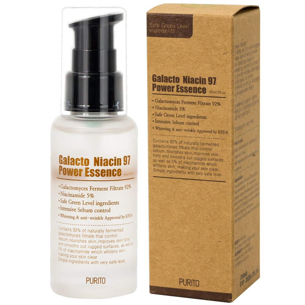 PURITO Galacto Niacin 97 Power Essence  is now available at Timeless UK. Visit us at www.timeless-uk.com for product details and our latest deals!
