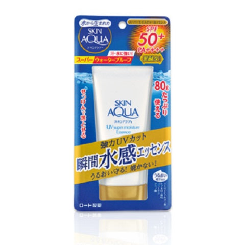 Rohto Skin Aqua Super Moisture Essence SPF 50+ PA++++ is now available at Timeless UK. Visit us at www.timeless-uk.com for product details and our latest offers!