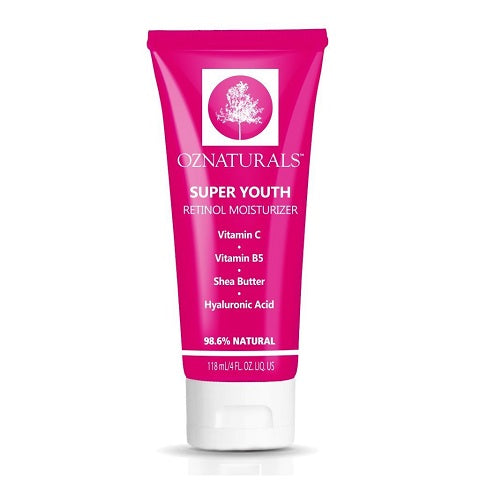 OZNaturals Super Youth Retinol Moisturizer is available at Timeless UK, Visit us at www.timeless-uk for product details and our latest offers!