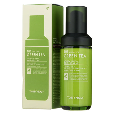 TONYMOLY - The Chok Chok Green Tea Watery Essence is now available at Timeless UK. Visit us at www.timeless-uk.com for product details and our latest offers!