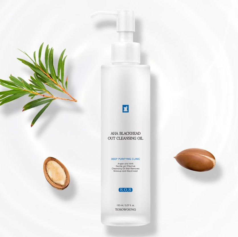 < NEW ARRIVAL > Tosowoong AHA Blackhead Out Cleansing Oil - 150ml