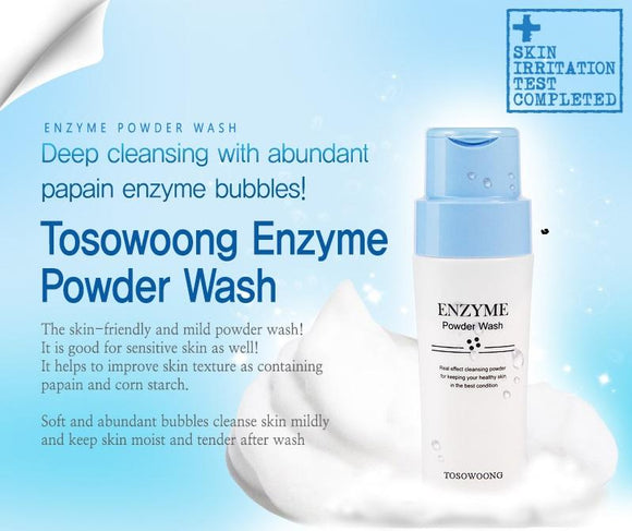 Tosowoong Enzyme Powder Wash now available at Timeless UK. Visit us at www.timeless-uk.com for product details and our latest offers!