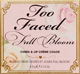 < NEW ARRIVAL > Too Faced Full Bloom Cheek & Lip Créme Color in Prim & Poppy 4.5g / 0.16oz