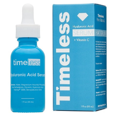 Timeless Skin Care - Hyaluronic Acid Vitamin C with Matrixyl 3000 Serum 1 oz / 30ml - NEW
