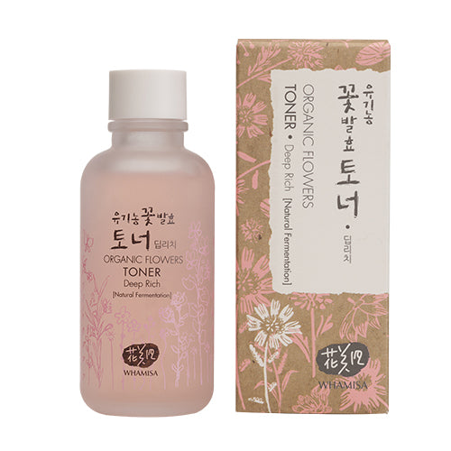 Whamisa Organic Flowers Toner Deep Rich - 120ml