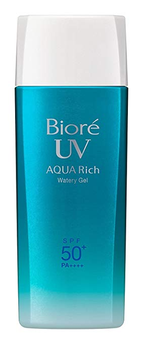 Biore UV Aqua Rich Watery Gel SPF50+ / PA++++ - 90ml - 2019 edition Now available at Timeless UK. Visit us at www.timeless-uk.com for product details and our latest offers!