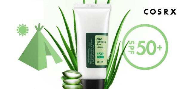 Cosrx Aloe Soothing Sun Cream With SPF 50+ PA+++ - Now available on our sister website www.Barefection.com