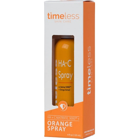 Timeless Skin Care HA + C MATRIXYL 3000™ w/ Orange Spray is available at Timeless UK. Visit us at www.timeless-uk.com for product details and our latest offers!