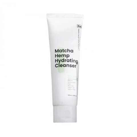 < NEW ARRIVAL >  KRAVEBEAUTY Matcha Hemp Hydrating Cleanser - 120ml - Only available on our sister website www.Barefection.com from Jan 2021 onwards