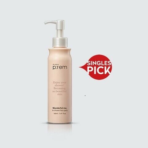 Make P:rem - Wonderful Me. In-Shower Face Pack 160ml
