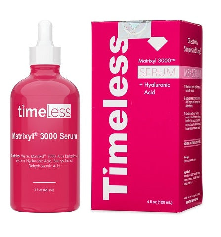 Timeless Skin Care Matrixyl 3000 Serum refill 4 fl. oz at Timeless UK. Visit us  at  www.timeless-uk.com for product details and our latest offers!