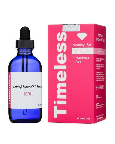 Timeless Skin Care - Matrixyl Synthe'6 Serum Refill - 4 oz /  120ml