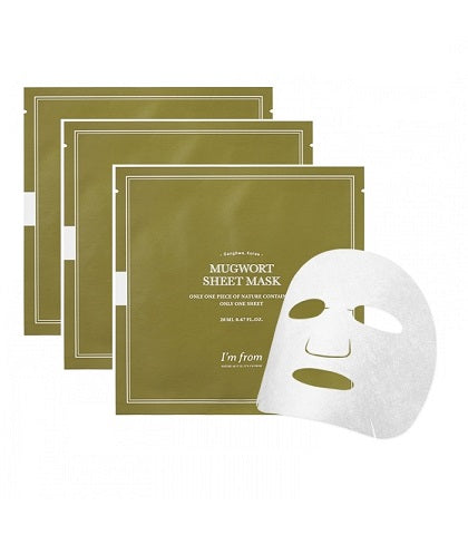 I'm From Mugwort Sheet Masks now available at Timeless UK. Visit us at www.timeless-uk.com for product details and our latest offers!