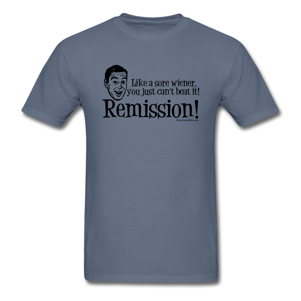 Cancer Remission Men's T-Shirt [product type] - Funny Cancer T Shirts and Chemo Gifts