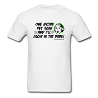 One More PET Scan Men's T-Shirt (Woman's Design) [product type] - Funny Cancer T Shirts and Chemo Gifts