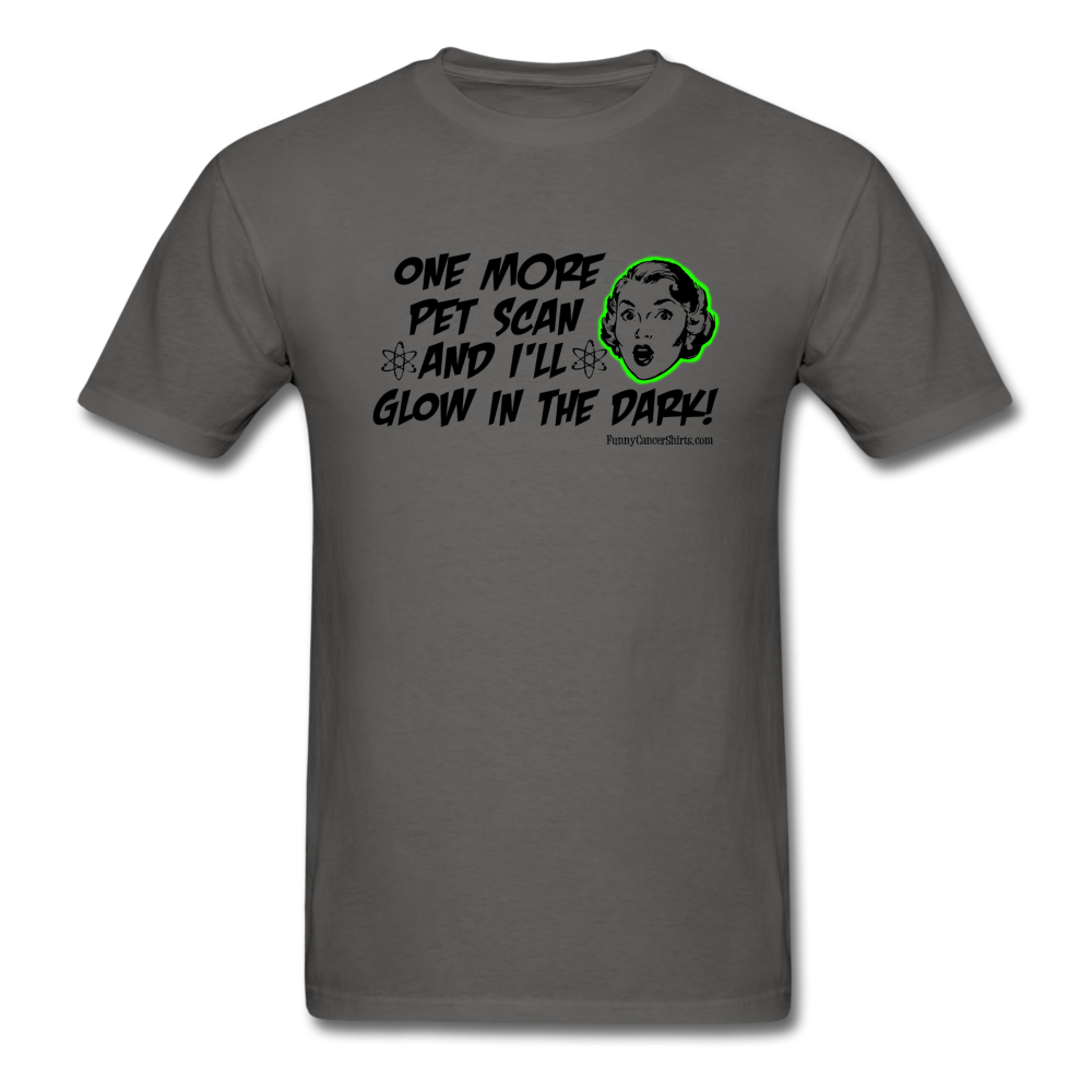 One More PET Scan Men's T-Shirt (Woman's Design) - Funny Cancer Shirts